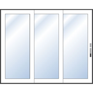 Images Of Multiple Sliding Doors Handle Idea