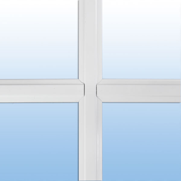 "value windows doors 1"" beveled window grid"