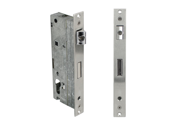 Value aluminum Series Inside view of Mortise Locking System