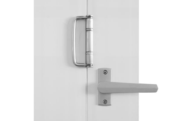Value-Brushed nickel twin bolt lock