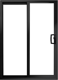value windows doors Aluminum Series Patio Sliding Door Image