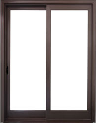 value windows doors Fusionwood Patio Sliding Door