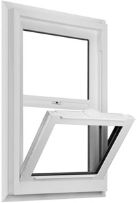 value windows doors Galaxy series Single Hung Window Image