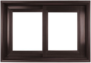 value windows doors fusionwood Horizontal Sliding Window Product Photo