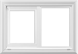 value windows doors Imperial series Horizontal Sliding Window