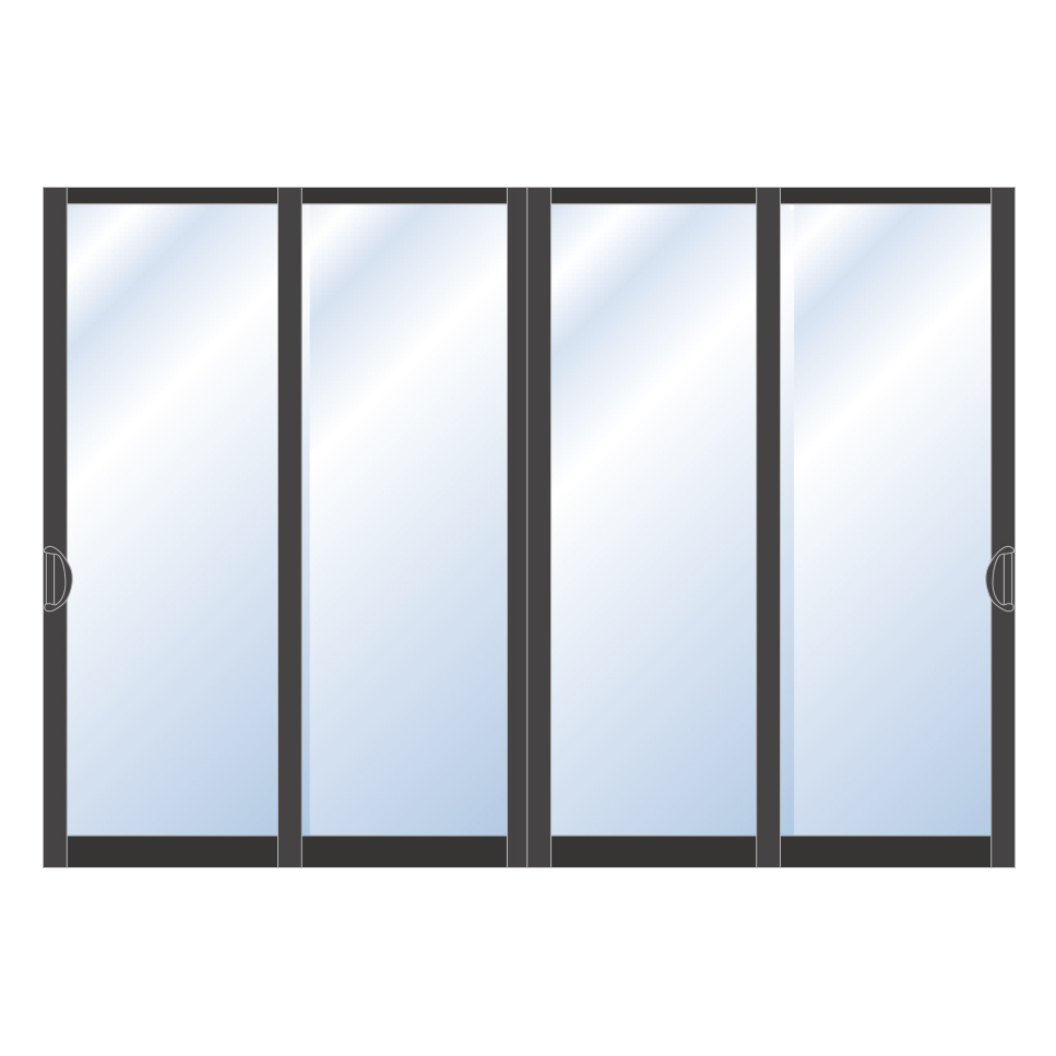 Aluminum patio sliding door valuewindowsdoors for Aluminium patio doors