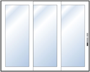 Value Image Link to Multiple Sliding Doors