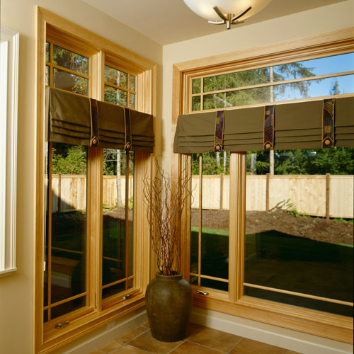 value windows doors Fusionwood series pine interior frame