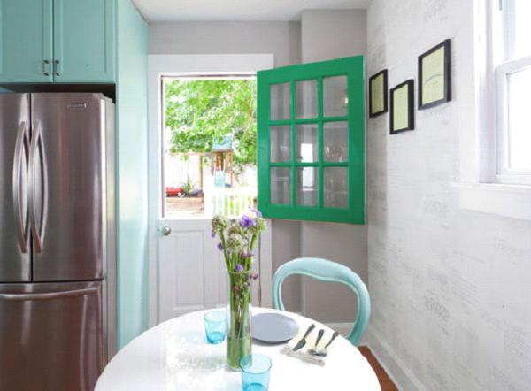 Open up a gallery kitchen